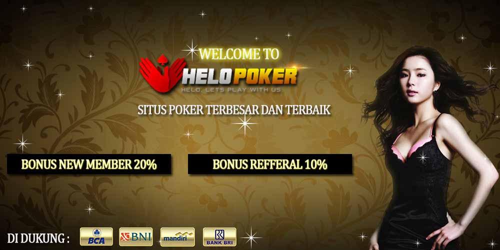 Bonus judi poker online terbesar